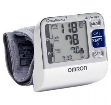 Тонометр автоматический на запястье Omron R5 Prestige (НЕМ-6052-RU) (Япония)
